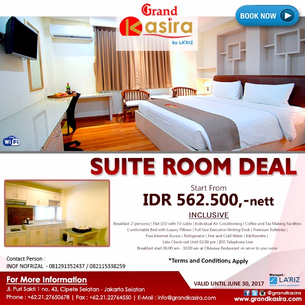 Kasira Suite Room